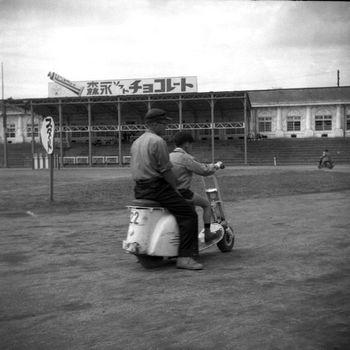 1957年ころ 豊島園にて.jpg
